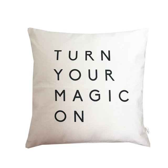 Almohadón Turn your magic on - comprar online
