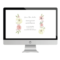 Save the date Flores - tienda online