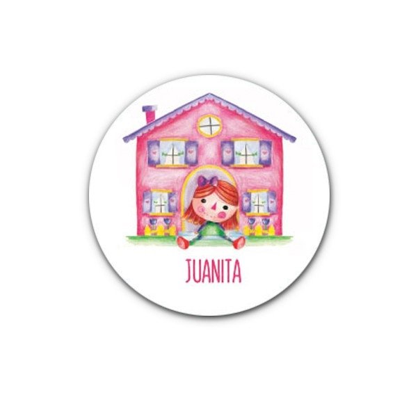 Stickers Doll x 35 - comprar online