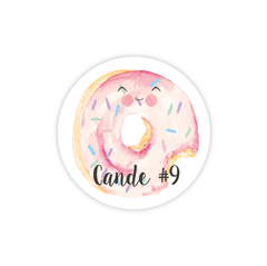 Stickers Donut x 35