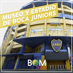 Museo Boca Juniors c/ visita al estadio
