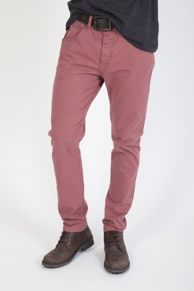 Pantalon Twill Color