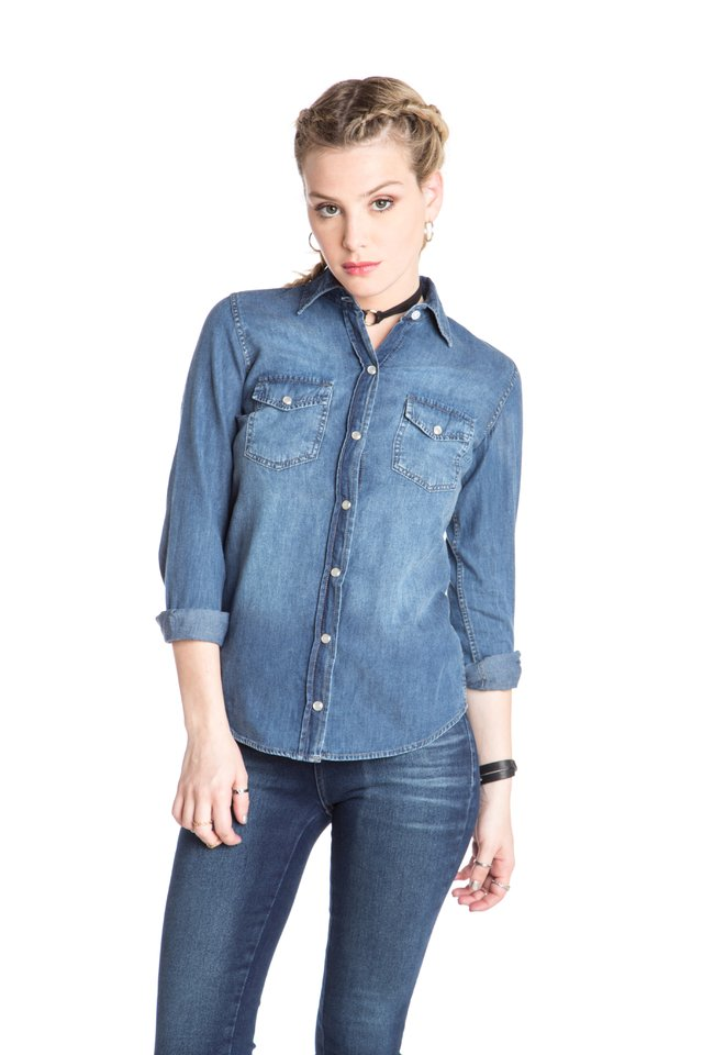 Camisa Lady de Jean Denim Perry