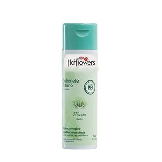 SABONETE ÍNTIMO LÍQUIDO MENTA 35ML - HOT FLOWERS