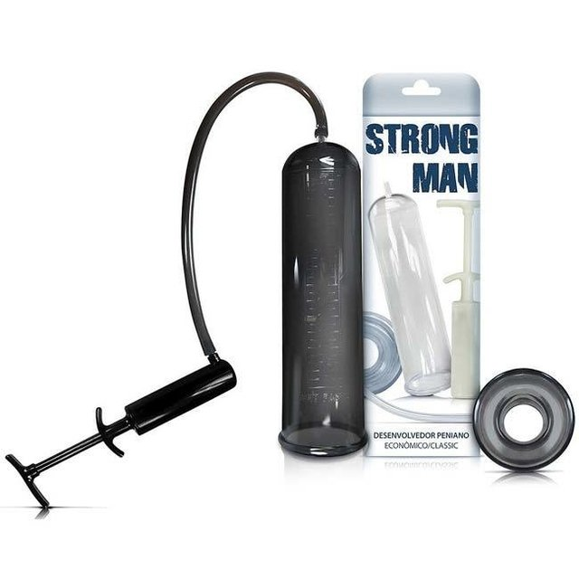 BOMBA PENIANA MANUAL FUME STRONG MAN - SEXY FANTASY