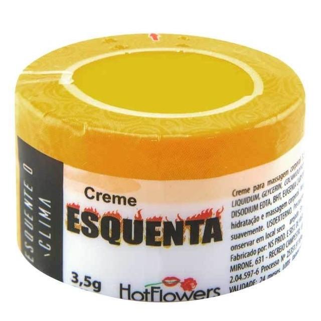 CREME ESQUENTA 3,5G - HOT FLOWERS