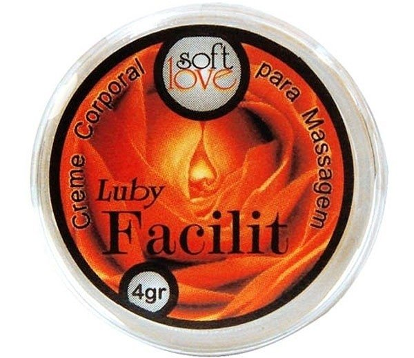 LUBY FACILIT CREME ANAL ANESTÉSICO 4G - SOFT LOVE