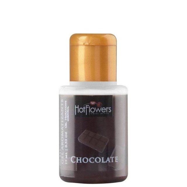 GEL AROMATIZANTE COMESTIVEL HOT CHOCOLATE 15ML - HOT FLOWERS