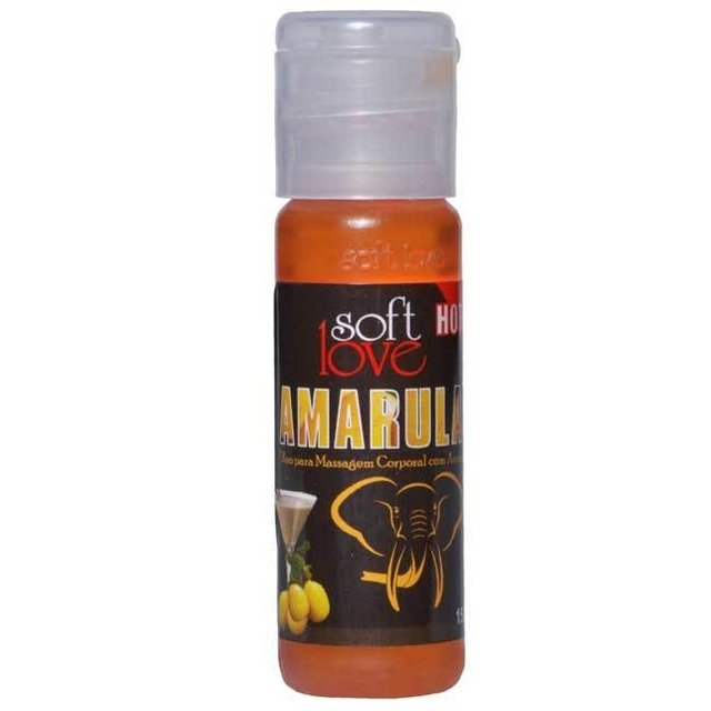 GEL AROMATIZANTE HOT AMARULA 15ML - SOFT LOVE