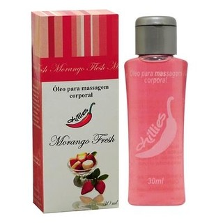 GEL COMESTÍVEL FRESH ICE MORANGO 30ML - CHILLIES