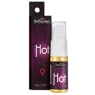 GEL EXCITANTE PONTO HOT 12G - HOT FLOWERS
