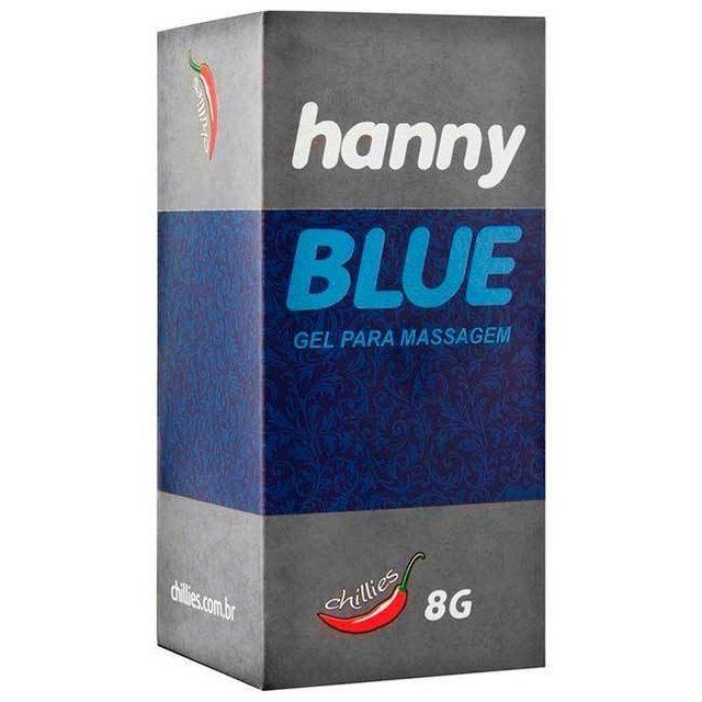 HANNY BLUE ANESTESICO 8GR - CHILLIES