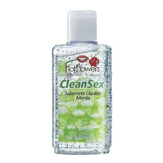 HIGIENIZADOR LÍQUIDO CLEAN SEX 60ML - HOT FLOWERS