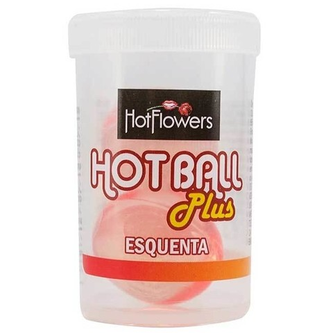 HOT BALL BOLINHA ESQUENTA 04GR - HOT FLOWERS
