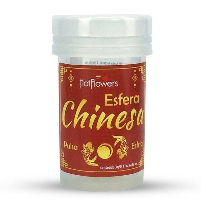 HOT BALL ESFERA CHINESA 2 UNIDADES - HOT FLOWERS