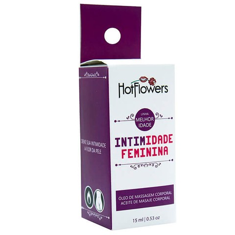 INTIMIDADE ESTIMULANTE SEXUAL FEMININO 15ML - HOT FLOWERS