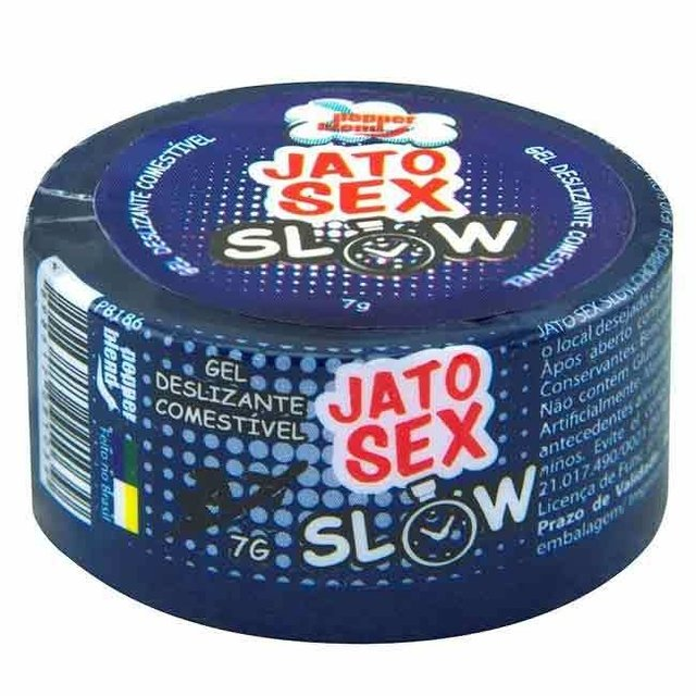 JATO SEX SLOW RETARDA EJACULAÇÃO GEL 7G - PEPPER BLEND