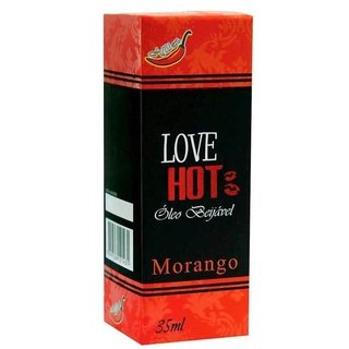 LOVE HOT GEL COMESTÍVEL MORANGO 35ML - CHILLIES