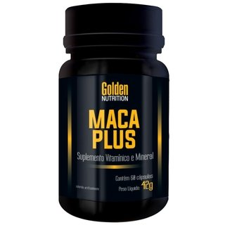 MACA PLUS 60 CAPSULAS - GOLDEN NUTRITION