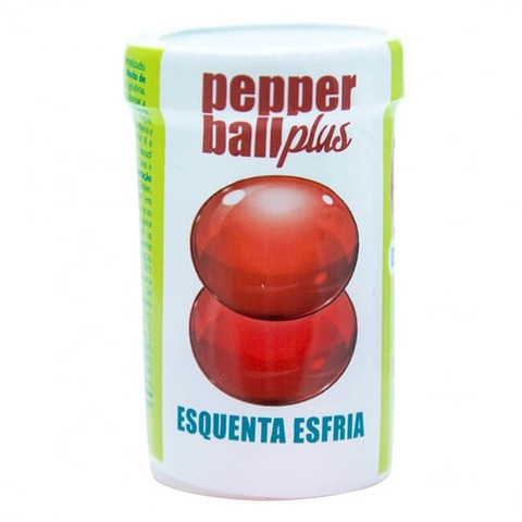 PEPPER BALL PLUS COMESTÍVEL ESQUENTA ESFRIA 3G - PEPPER BLEND