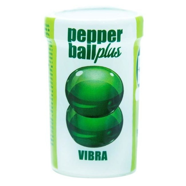 PEPPER BALL PLUS VIBRA DUPLA 3G - PEPPER BLEND