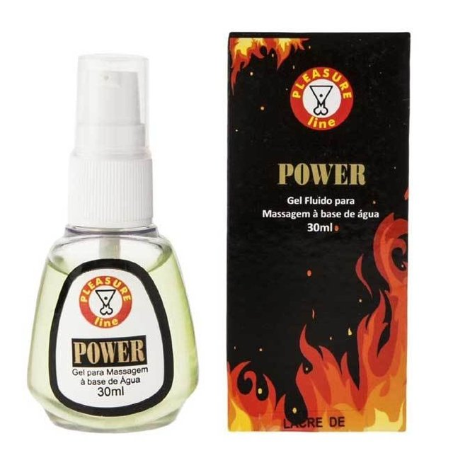 RETARDANTE POWER GEL MASCULINO 30ML - PLEASURE LINE