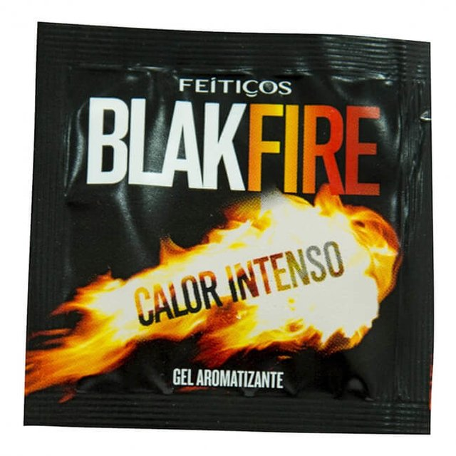 BLACK FIRE GEL COMESTIVEL SACHE  5G - FEITICOS
