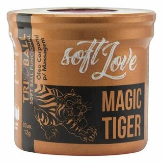 SOFT BALL TRIBALL MAGIC TIGER 03 UNIDADES - SOFT LOVE