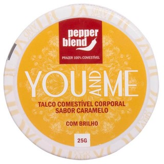 TALCO COMESTÍVEL AROMÁTICO YOU AND ME 25G - PEPPER BLEND na internet