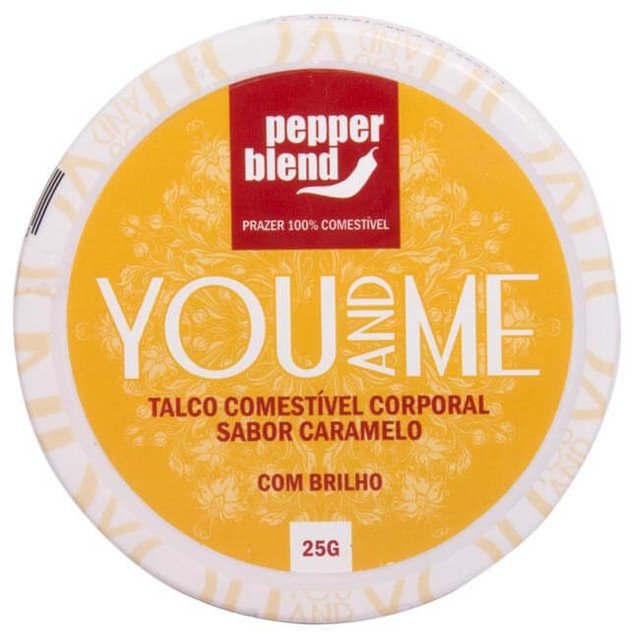 TALCO COMESTIVEL AROMATICO YOU AND ME - PEPPER BLEND na internet