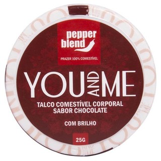 TALCO COMESTÍVEL AROMÁTICO YOU AND ME 25G - PEPPER BLEND - comprar online