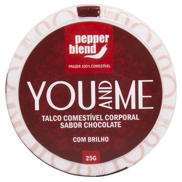 TALCO COMESTIVEL AROMATICO YOU AND ME - PEPPER BLEND - comprar online