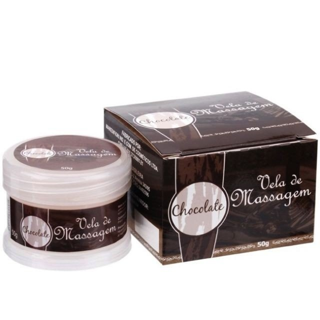 VELA PARA MASSAGEM CHOCOLATE 50G - KGEL