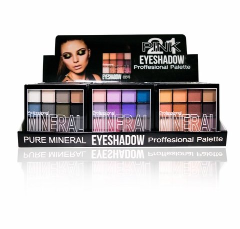 PINK 21 EYESHADOW PROFESSIONAL PALETTE CS1094