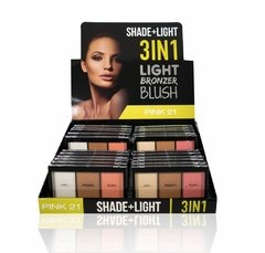 PINK 21 3 IN1 LIGHT BRONZER BLUSH CS1472