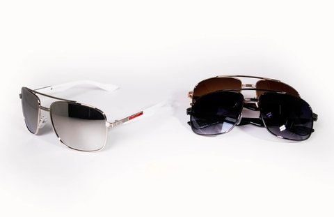 GAFAS AIR STAR BRAZO BLANCO DECORADO LT47