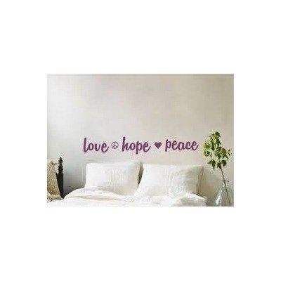 Vinilo love hope peace - comprar online