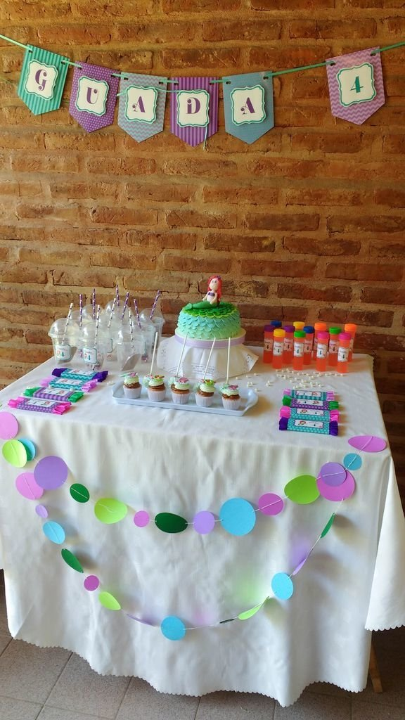 Candy Bar Sirenita Ariel