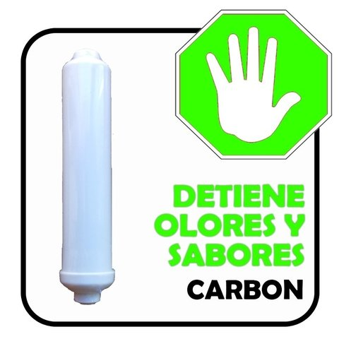 Cartucho Carbon Post Inline