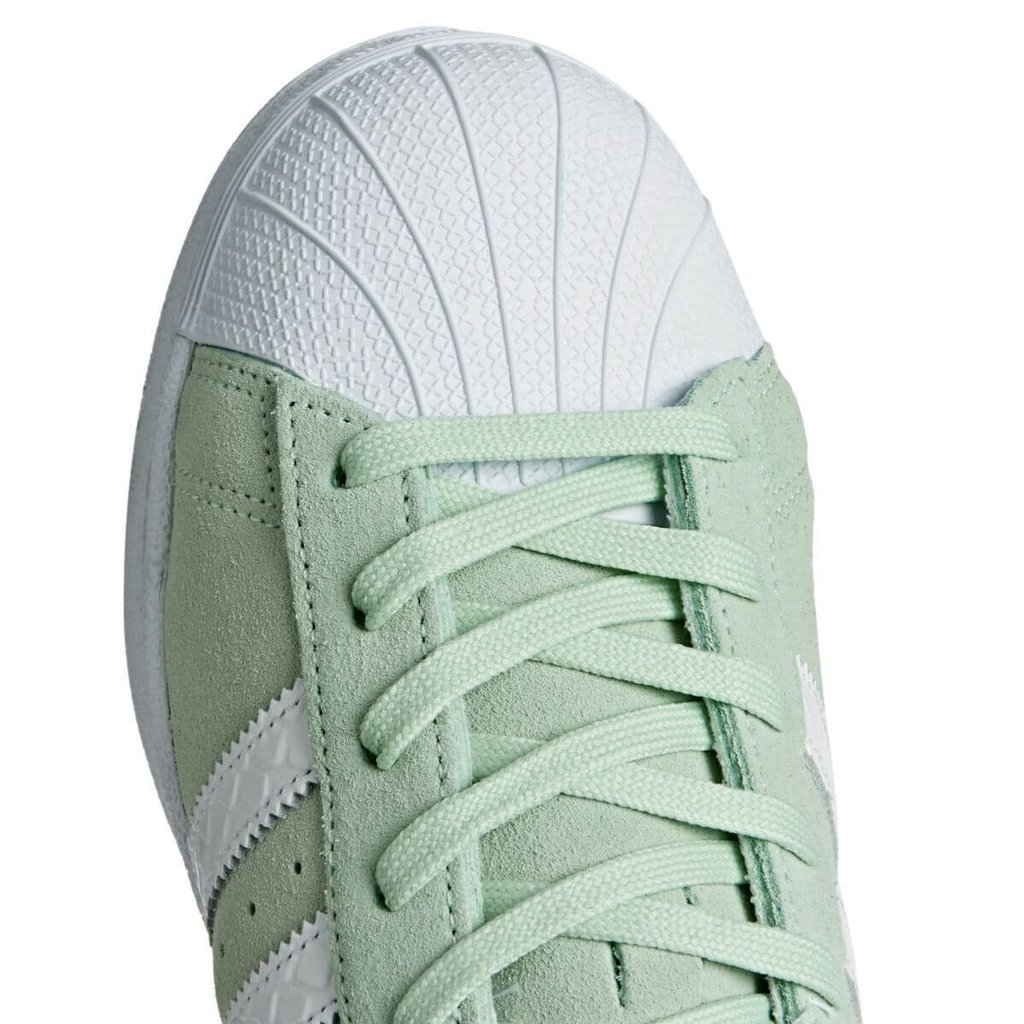 best loved 3457a 6ace8 adidas superstar gamuza menta - Oyuelito Store