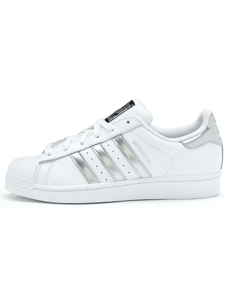 Adidas Superstar Plateado