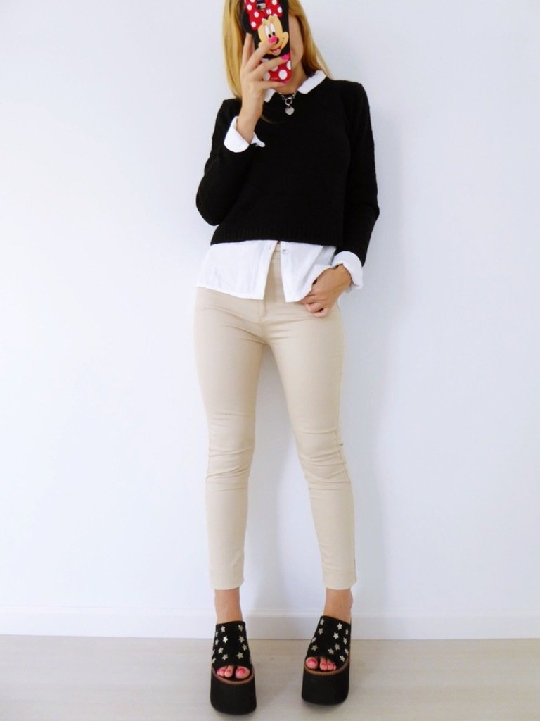 pantalon connor beige