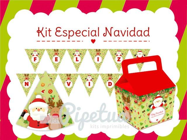 kit imprimible navidad decoracin navidea papa noel imprimibles navidad comprar online