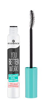 PESTAÑINA VOLUMEN Y RIZO YOU BETTER WORK! ESSENCE