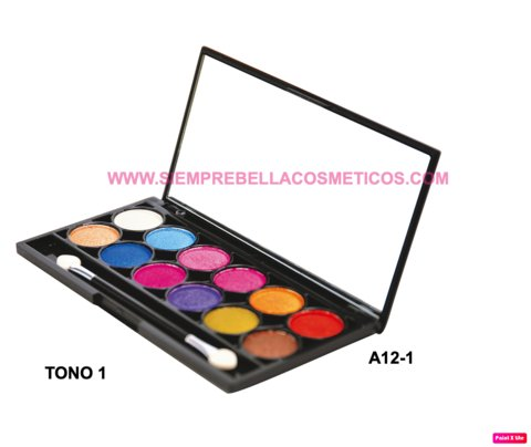 SOMBRAS X 12 COLORES A12 DOLCE BELLA