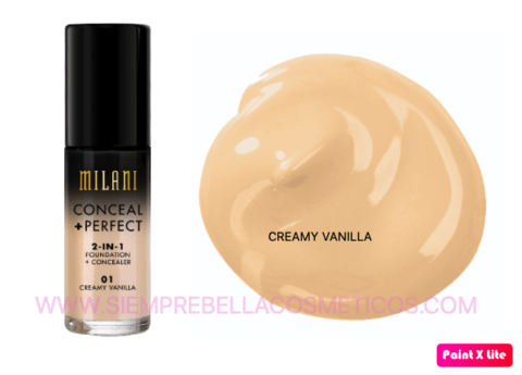 BASE FLUIDA CONCEAL + PERFECT 2-IN-1 MILANI