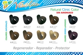 TINTE VISALIA NATURAL CLINIC COLOR - comprar online