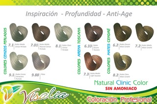 TINTE VISALIA NATURAL CLINIC COLOR en internet