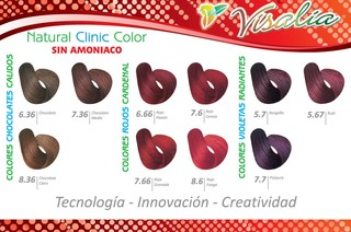 TINTE VISALIA NATURAL CLINIC COLOR - siemprebellacosmeticos.com