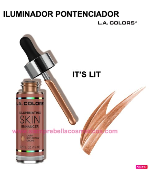 ILUMINADOR LIQUIDO IT'S LIT L.A COLORS